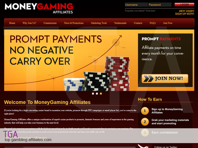 online casino affiliate bose gaming